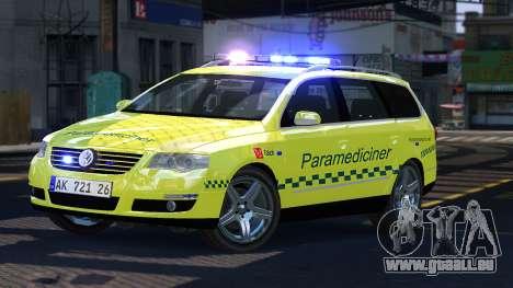 Volkswagen Passat Variant 2010 Paramedic [ELS] für GTA 4