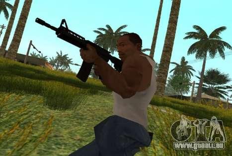 M4 CQB pour GTA San Andreas quatrième écran