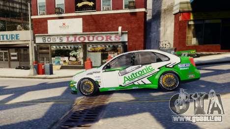 Chevrolet Lacetti pour GTA 4 est une vue de dessous