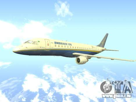 Embraer 175 HOUSE für GTA San Andreas