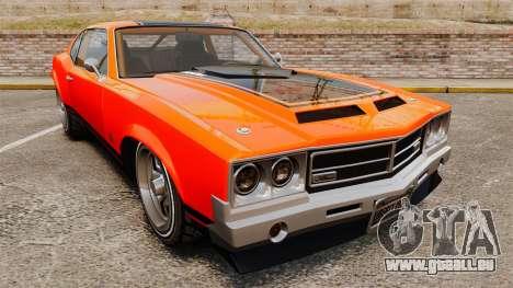Declasse SabreGT new wheels für GTA 4