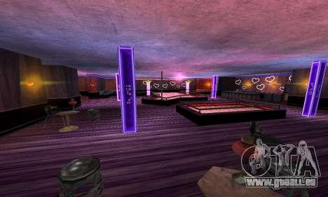 Retexture Jizzy, Alhambra, Pig Pen pour GTA San Andreas quatrième écran