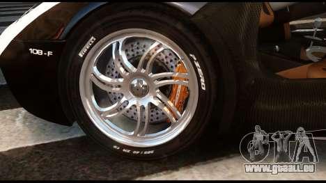 Pagani Huayra Police v1.1 für GTA 4 rechte Ansicht