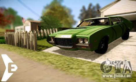 Ford Gran Torino 1972 für GTA San Andreas rechten Ansicht