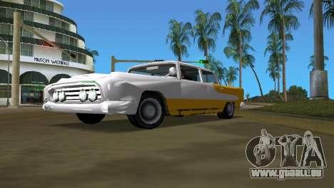 Océanique avec une amélioration de la texture pour GTA Vice City sur la vue arrière gauche