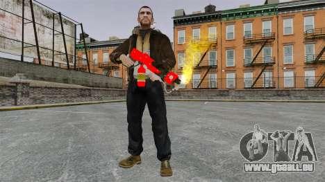 Le lance-flammes MX-295 pour GTA 4 cinquième écran