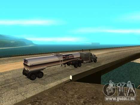 Anti-dételage de la remorque pour GTA San Andreas troisième écran