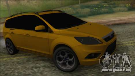 Ford Focus 2008 Station Wagon-Stock pour GTA San Andreas
