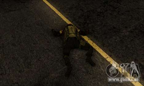 Kopassus Skin 1 für GTA San Andreas