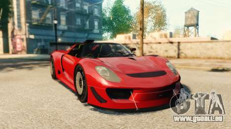 Porsche 918 Spider Body Kit Final pour GTA 4