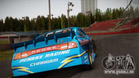 Dodge Charger NASCAR Sprint Cup 2012 pour GTA San Andreas laissé vue