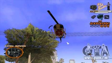 C-HUD-TV-Center für GTA San Andreas fünften Screenshot