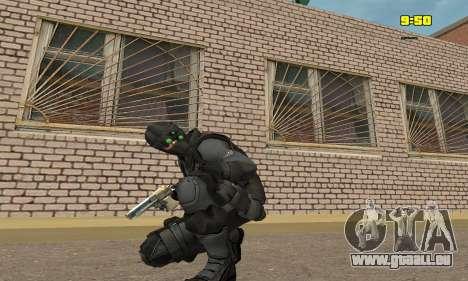 Archer aus dem Spiel Splinter Cell Conviction für GTA San Andreas dritten Screenshot