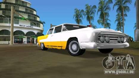 Oceanic mit verbesserter textur für GTA Vice City rechten Ansicht