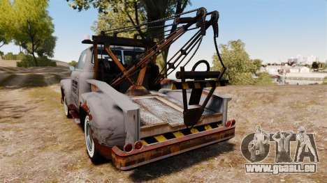 GTA IV TLAD Vapid Tow Truck pour GTA 4 Vue arrière de la gauche