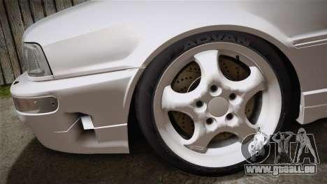 Audi RS2 Avant für GTA San Andreas zurück linke Ansicht
