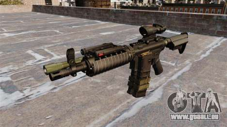 Automatische M4 carbine für GTA 4 dritte Screenshot