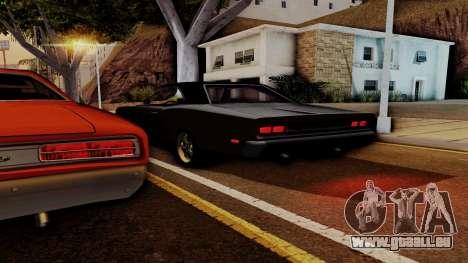Dodge Coronet RT 1969 440 Six-pack pour GTA San Andreas vue de dessous