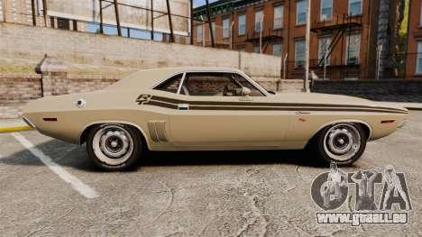 Dodge Challenger RT 1972 für GTA 4 linke Ansicht