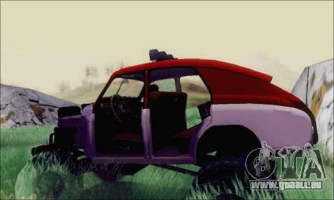 GAZ M20 Monstre pour GTA San Andreas vue de droite