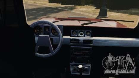 Mitsubishi Pajero I WAGON für GTA 4 Innenansicht
