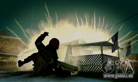 Kopassus Skin 1 für GTA San Andreas neunten Screenshot