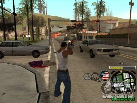 C-HUD Andy Cardozo pour GTA San Andreas troisième écran