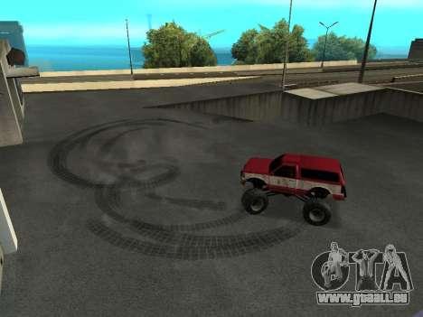 Street Monster pour GTA San Andreas vue de côté