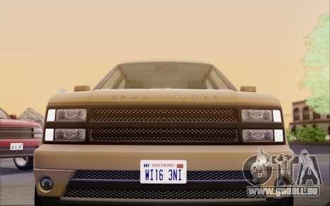 Gallivanter Baller из GTA V für GTA San Andreas Seitenansicht