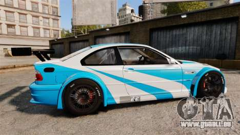 BMW M3 GTR 2012 Most Wanted v1.1 für GTA 4 linke Ansicht