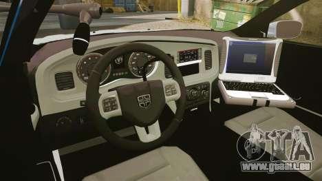 Dodge Charger 2011 LCPD [ELS] für GTA 4 Rückansicht