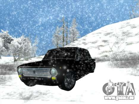 ВАЗ 2101 Tuning Style pour GTA San Andreas vue arrière