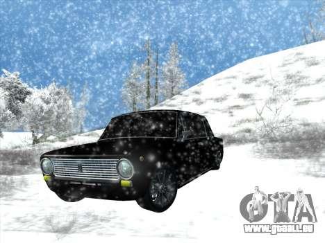 ВАЗ 2101 Tuning-Stil für GTA San Andreas Rückansicht