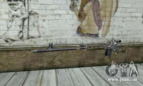 Fusil de précision à partir d'un Stalker pour GTA San Andreas
