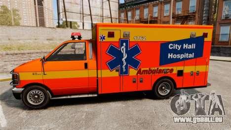 Brute CHH Ambulance für GTA 4 linke Ansicht