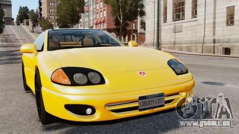 Dodge Stealth Turbo RT 1996 pour GTA 4