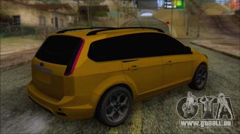 Ford Focus 2008 Station Wagon-Stock für GTA San Andreas linke Ansicht