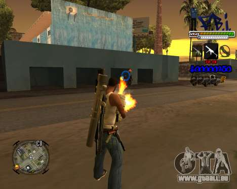 C-HUD FBI By iFreddy für GTA San Andreas zweiten Screenshot
