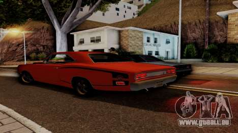 Dodge Coronet RT 1969 440 Six-pack für GTA San Andreas Innen