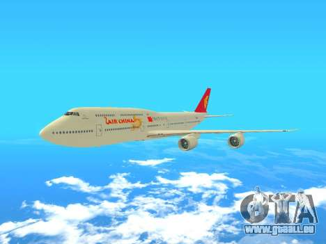 Boeing 747 Air China pour GTA San Andreas