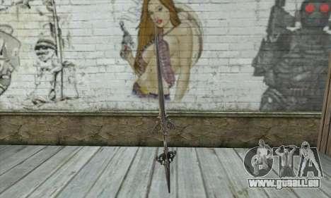 Épée pour GTA San Andreas