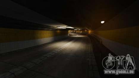 Illégales de la rue de la dérive de la piste pour GTA 4 neuvième écran
