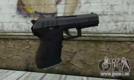 GTA V Combat Pistol pour GTA San Andreas deuxième écran