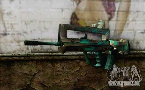 Famas G2 Commando Blaze für GTA San Andreas