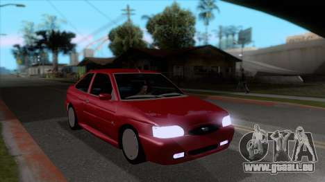 Ford Escort 1996 pour GTA San Andreas vue arrière