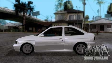 Ford Escort 1996 pour GTA San Andreas laissé vue