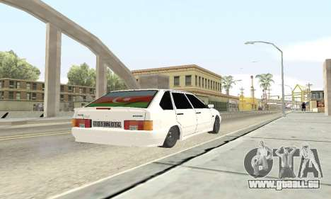 VAZ 2114 Avtosh für GTA San Andreas Innenansicht