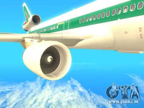 McDonnell Douglas MD-11 Alitalia pour GTA San Andreas vue de droite