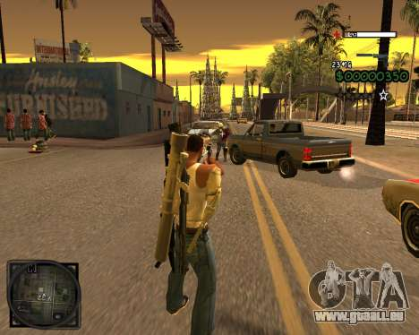 C-HUD Lite v2.0 pour GTA San Andreas