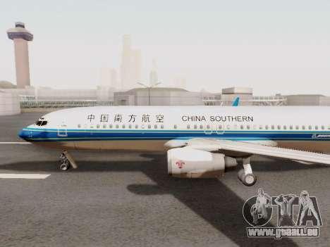 China Southern Airlines Boeing 737-800 für GTA San Andreas zurück linke Ansicht